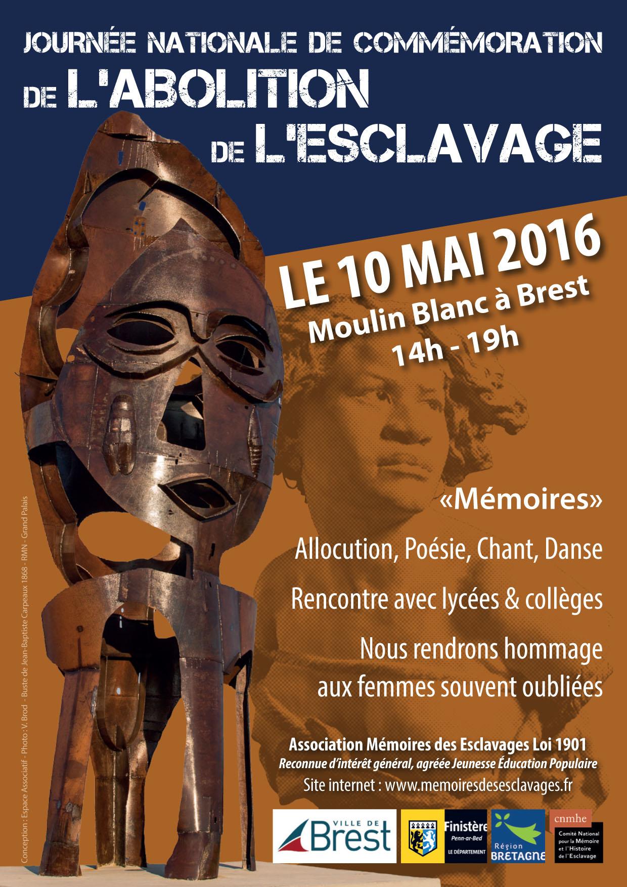 flyer commémoration